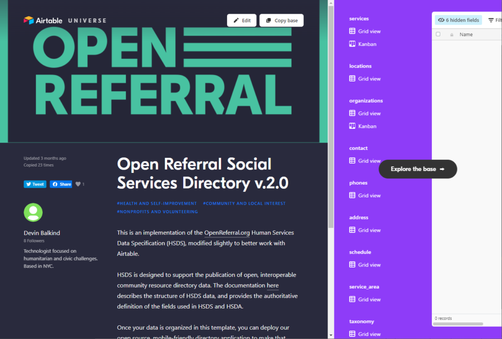 Open Referral Solutions