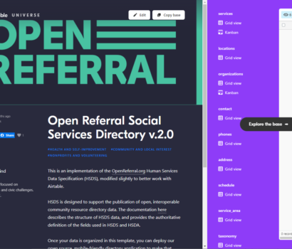 Open Referral Airtable Template
