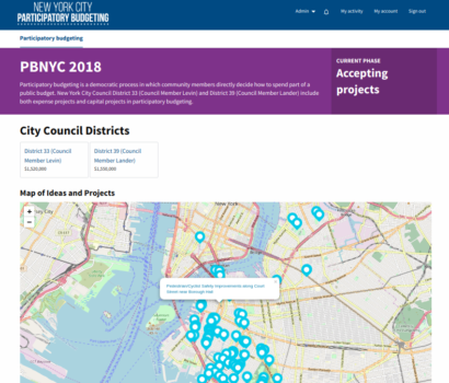 Deploying Consul for NYC's Participatory Budgeting Process