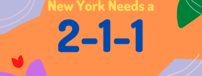 NYC Needs a 2–1–1System