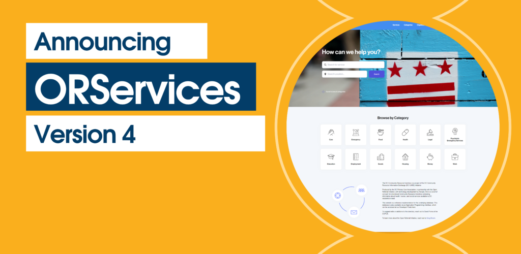 ORServices Update #4 Makes it Easy to Build Your Own Social Services Directory